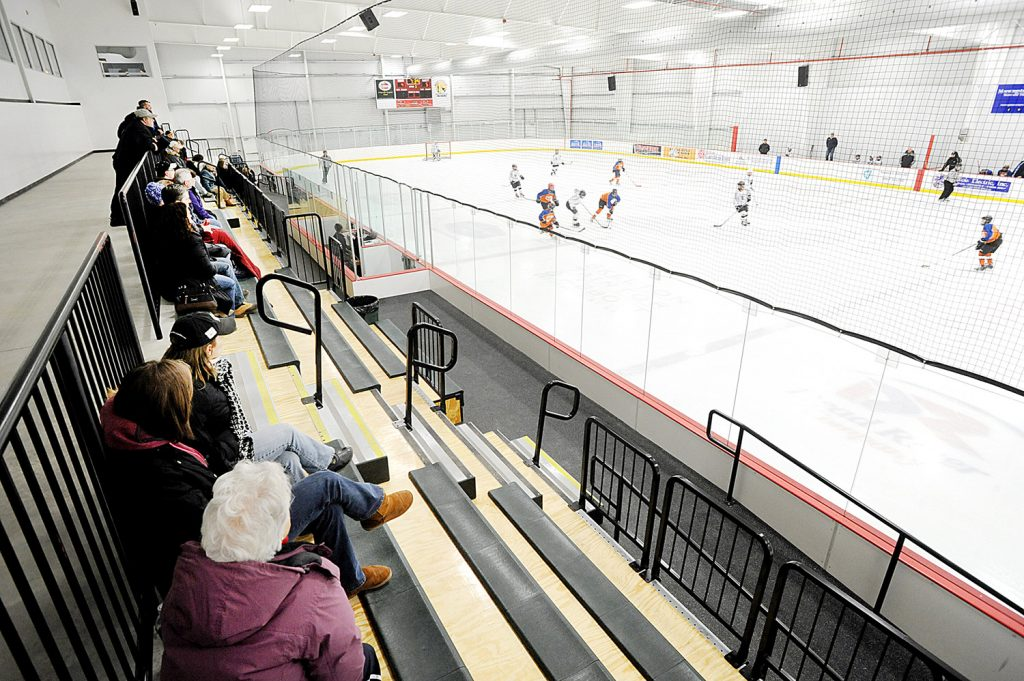 The Norway Savings Bank Arena in Auburn will be home to a junior hockey team.
