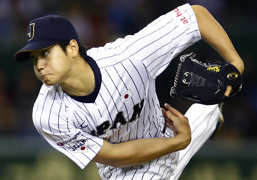 Shohei Ohtani of Japan is officially on the market after major league owners approved a new posting agreement.