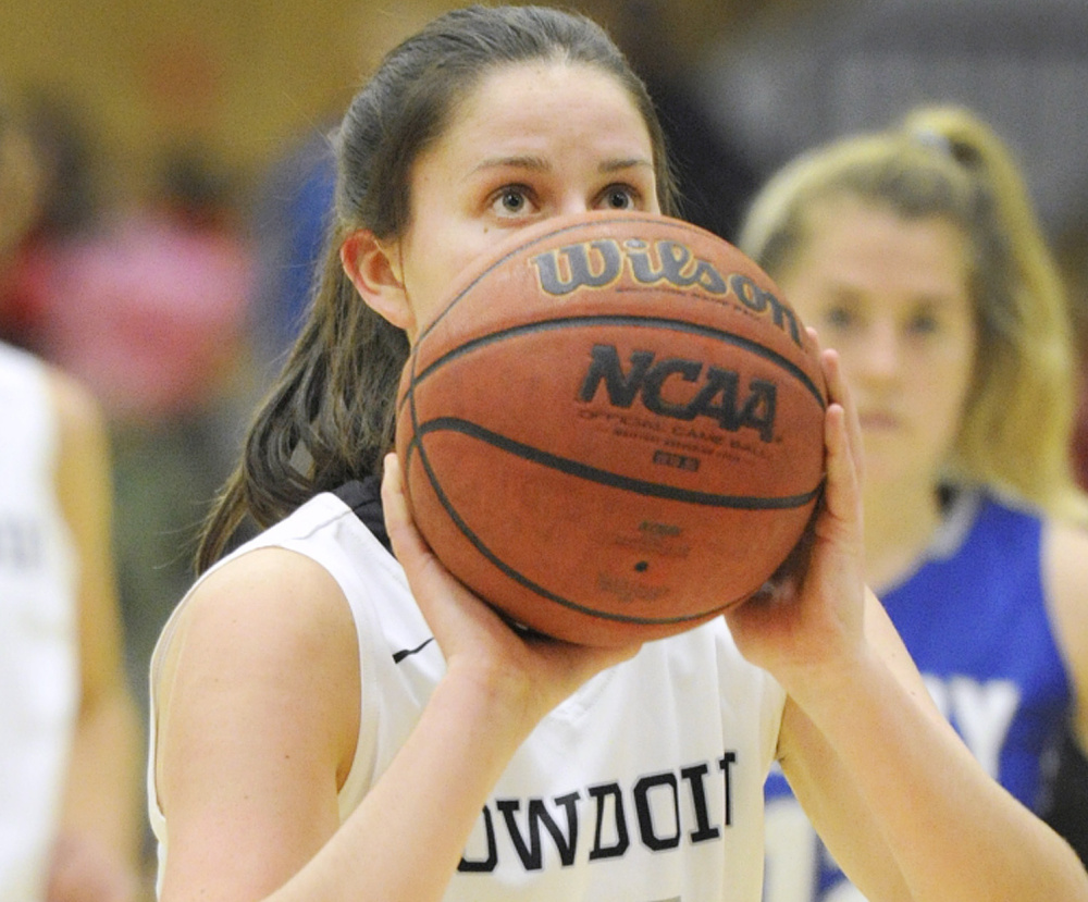 Maddie Hasson, a sophomore from South Portland, is one of the Maine natives who have helped Bowdoin College remain among the nation's elite in women's basketball. The Polar Bears are 7-0 and have reached the NCAA tournament eight of the last nine seasons.