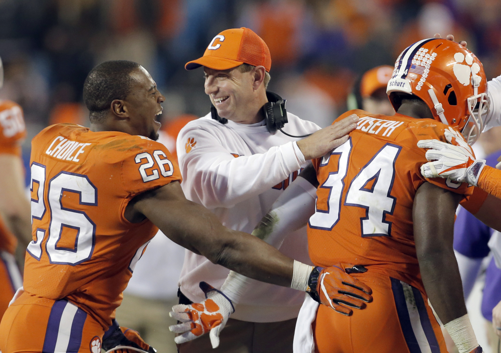 Clemson Wins Third Straight Acc Title Portland Press Herald