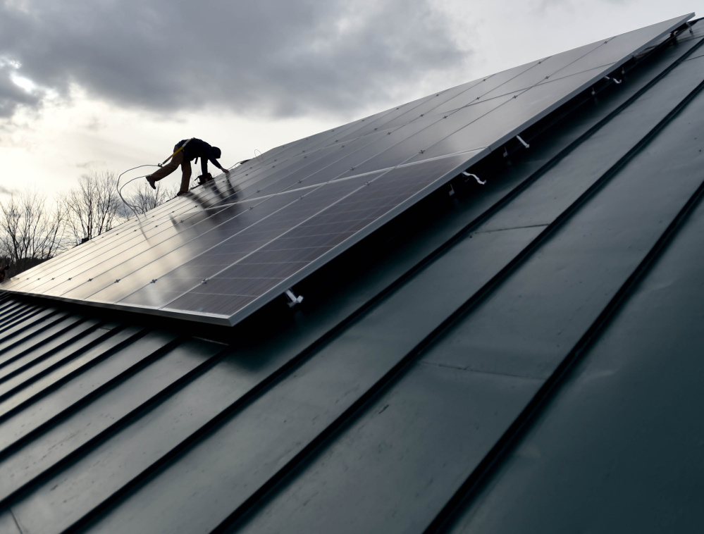 Under the delayed new rule, power fed into the grid from solar systems installed after April 30 would be less valuable over time.