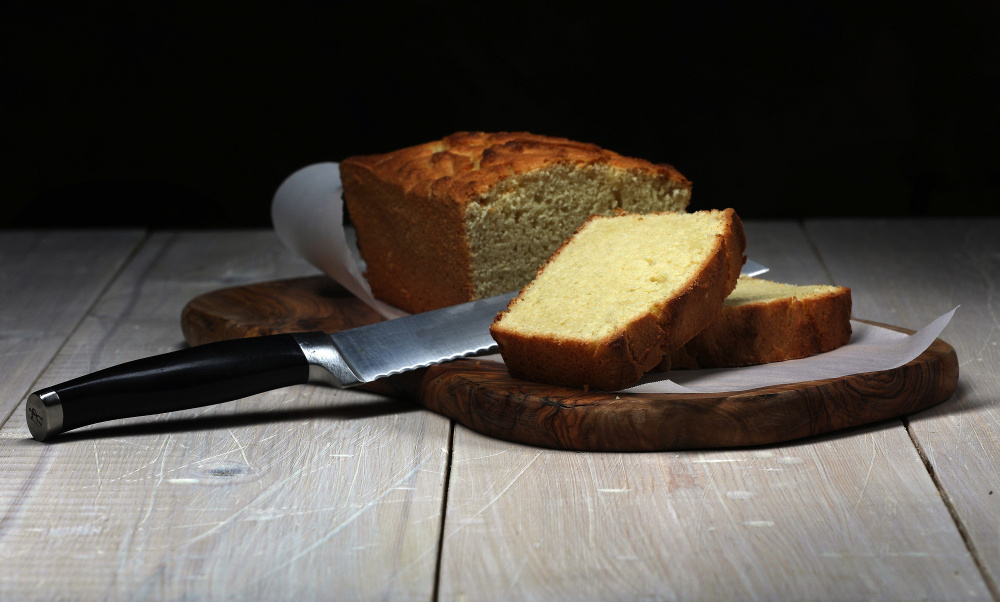 Coconut Pound Cake Loaf Pan