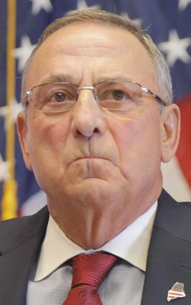 """Republican LePage has """"a strong base"""""""