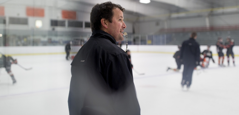 "Biddeford High boys' hockey coach Jason Tremblay has 11 seniors back from a team that advanced to the Class A quarterfinals last season. ""We believe we will be right in the mix,"" he says of the Tigers. Tremblay, who played for Biddeford in the 1990s, is in his second season as head coach."