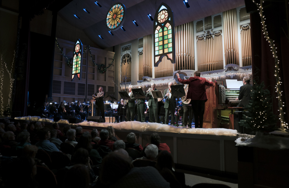 "Robert Moody conducts the Portland Symphony Orchestra in his last run of ""Magic of Christmas"" shows."