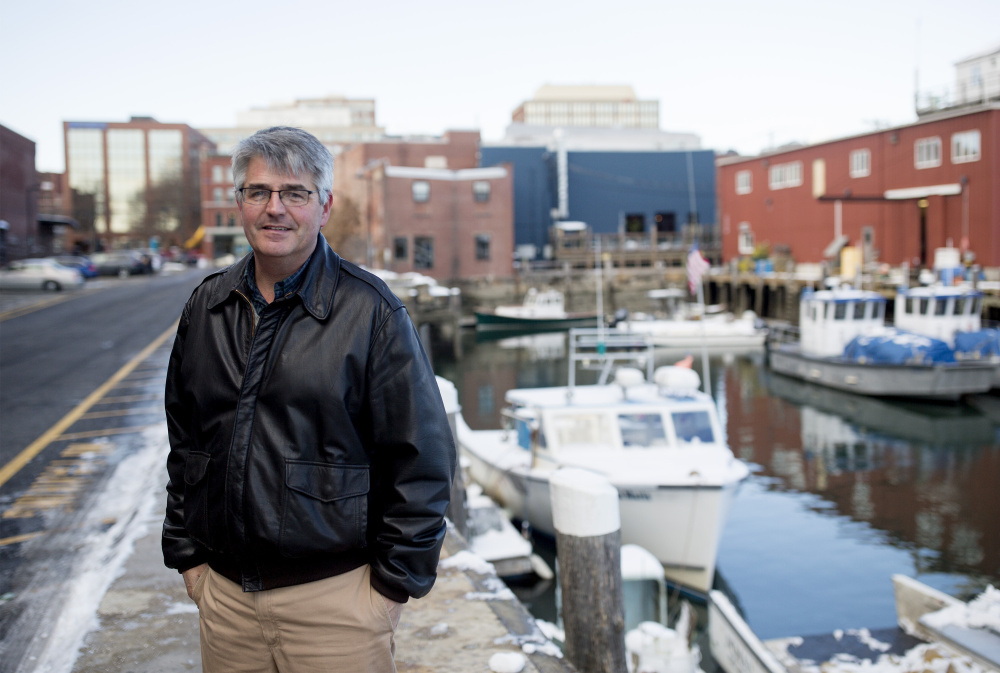 Bill Needleman has been Portland's waterfront coordinator for four years and said he thinks adapting to sea level rise and climate change will be a defining feature of city life in the future.