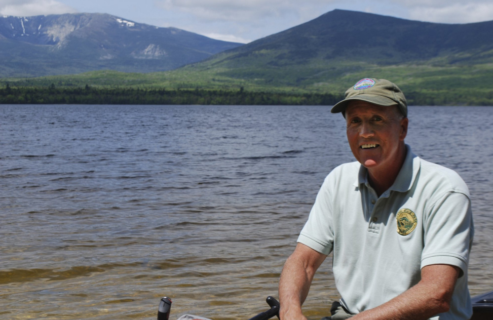 """Baxter State Park Director Jensen Bissell will retire on Dec. 29. """"It's really going to be nice to be able to come to the park and fish the entire day if I want to,"""" he said. His first task in 1987 was to manage 29,000 acres of the park."""