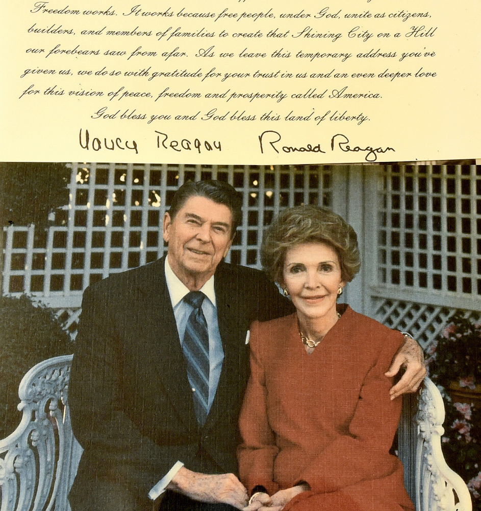 Margaret Chase Smith Library Showcases Cards From Us Leaders And