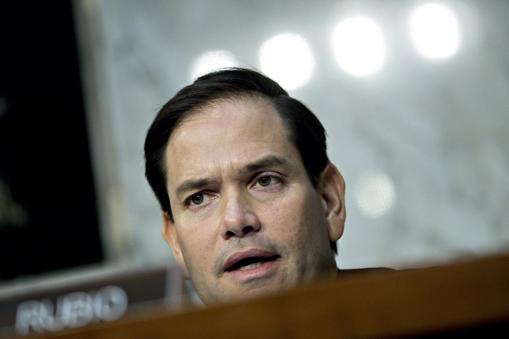 Sen. Marco Rubio, R-Fla., seen here in November, signaled he would vote for Republicans' tax plan Friday after last-minute changes.