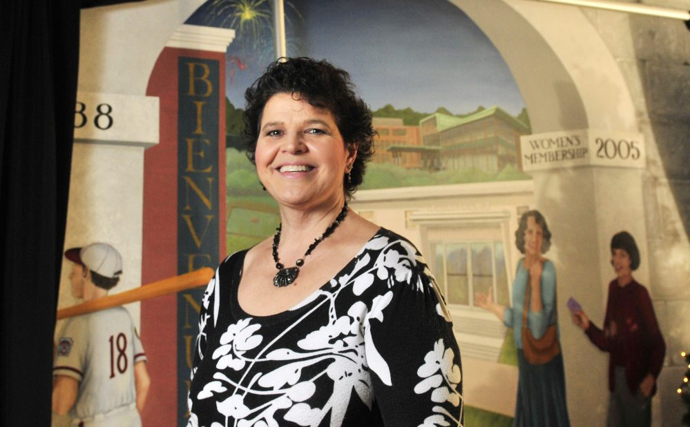 Ninety-five years after its founding, Le Club Calumet has its first female president in Lisa Newell, who joined in 2005.