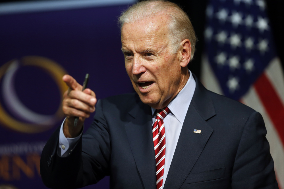 Former Vice President Joe Biden will visit Merrill Auditorium on Jan. 31 as part of a nationwide book tour.