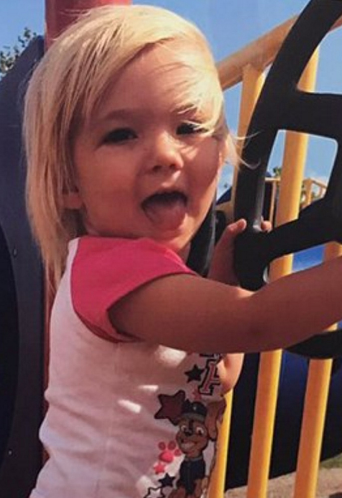 The death of Kloe Marie Hawksley was reported Oct. 18 at a residence on Central Street in Bucksport.