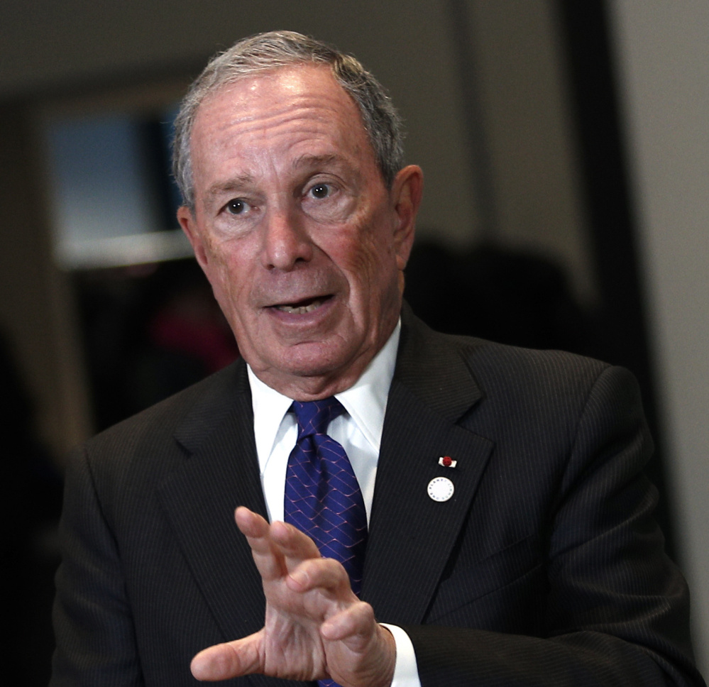 Michael Bloomberg says he is backing the American Talent Initiative because he believes that top colleges haven't done enough to aid lower-income students.