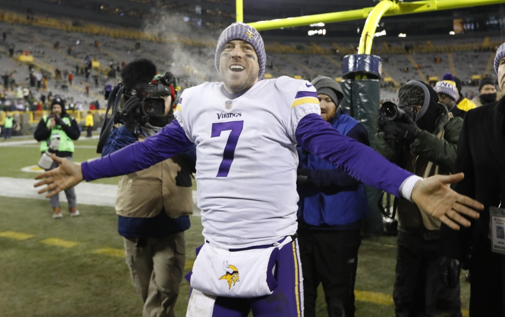 Quarterback Case Keenum has helped steer the Minnesota Vikings to the playoffs, and now, who knows? The NFC has no favorite, and the Vikings could play the Super Bowl at home.
