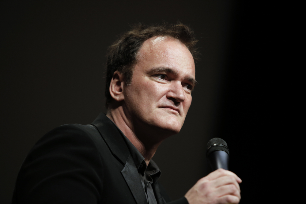 "On director Quentin Tarantino's sets, one person has the job of collecting phones at ""Checkpoint Charlie,"" so the rule is crystal clear. ""It's accepted and it's known that if a phone goes off on set, that's your last day,""script for a planned film called ""The Hateful Eight."""
