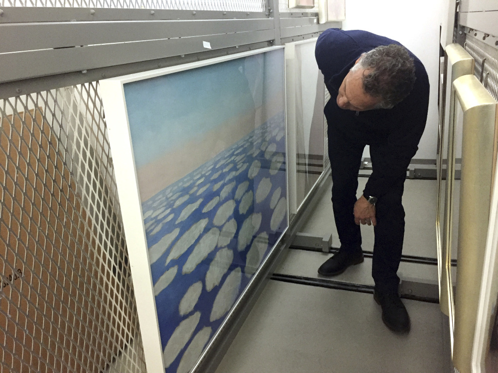 Dale Kronkright, head of conservation at the Georgia O'Keeffe Museum, sees high-tech ways for preserving art.