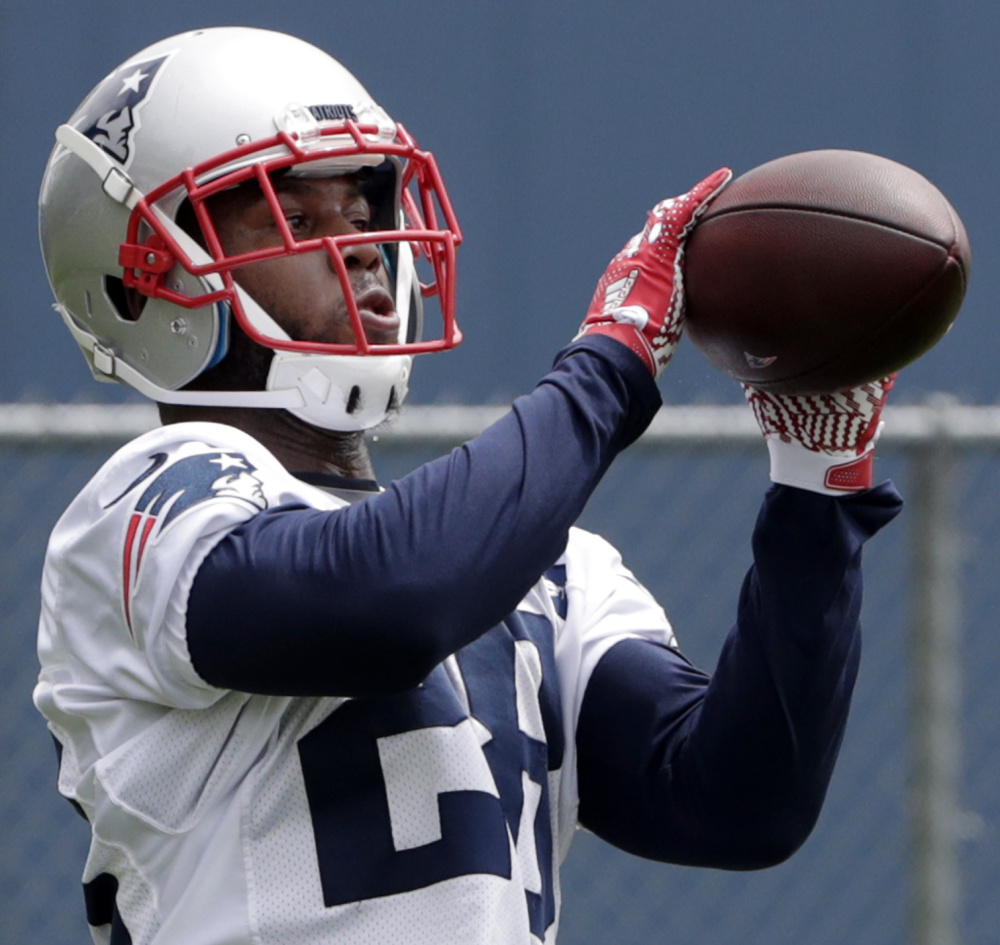 James White has 56 of the 119 receptions among running backs for the Patriots this season, which is 32 percent of the passes completed by Tom Brady.