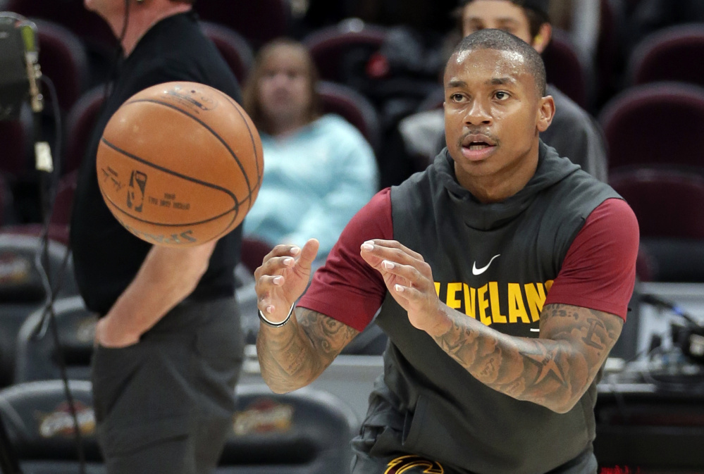 Isaiah Thomas has not played since Game 2 of the Eastern Conference finals when he was a member of the Boston Celtics. He was traded to Cleveland in the offseason and is still waiting to make his season debut.