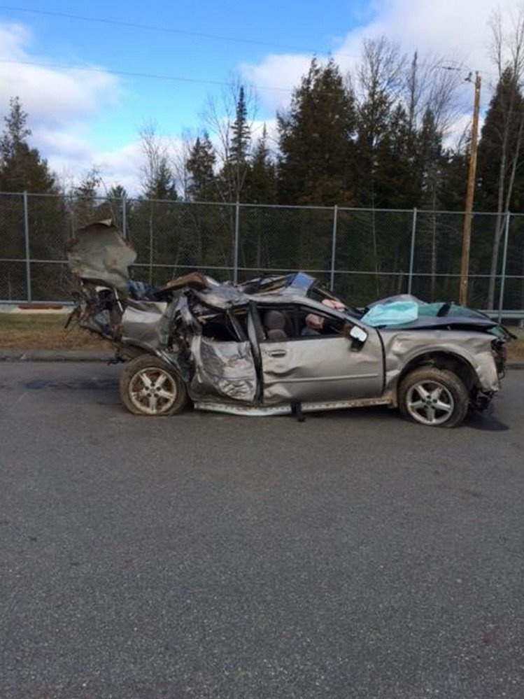 Jonathan Cayford was charged with manslaughter after an investigation into a November 2015 crash involving this 1998 Nissan Maxima on Anson Road in Starks.