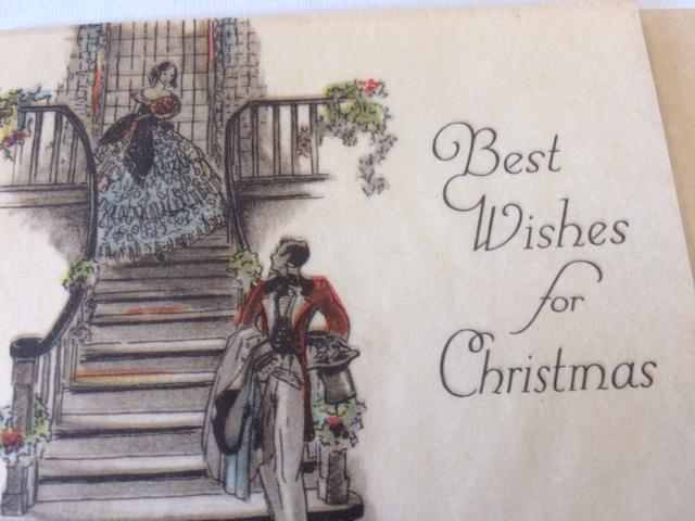 christmas cards were considered tiny pieces of art in the 19th century the card in the photo is from the wonderful collection of cards in the windham - Current Christmas Cards