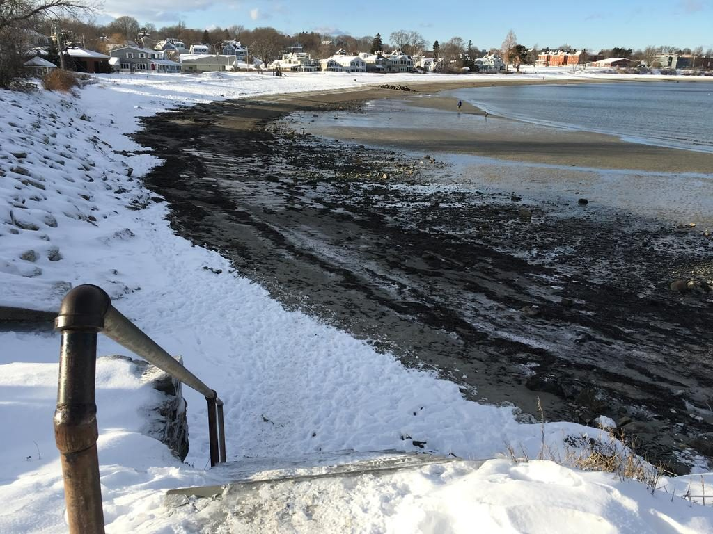 Stairs from Deake Street to Willard Beach will be repaired or replaced by South Portland, but not for several months.