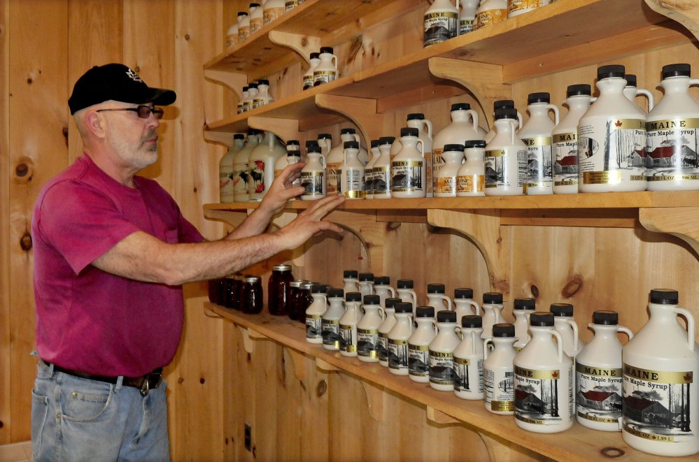 "Russell Black raises cattle and produces maple syrup in his Black Acres Sugar Shack in Wilton. The growing national interest in ""traceable"" food holds promise in Maine."