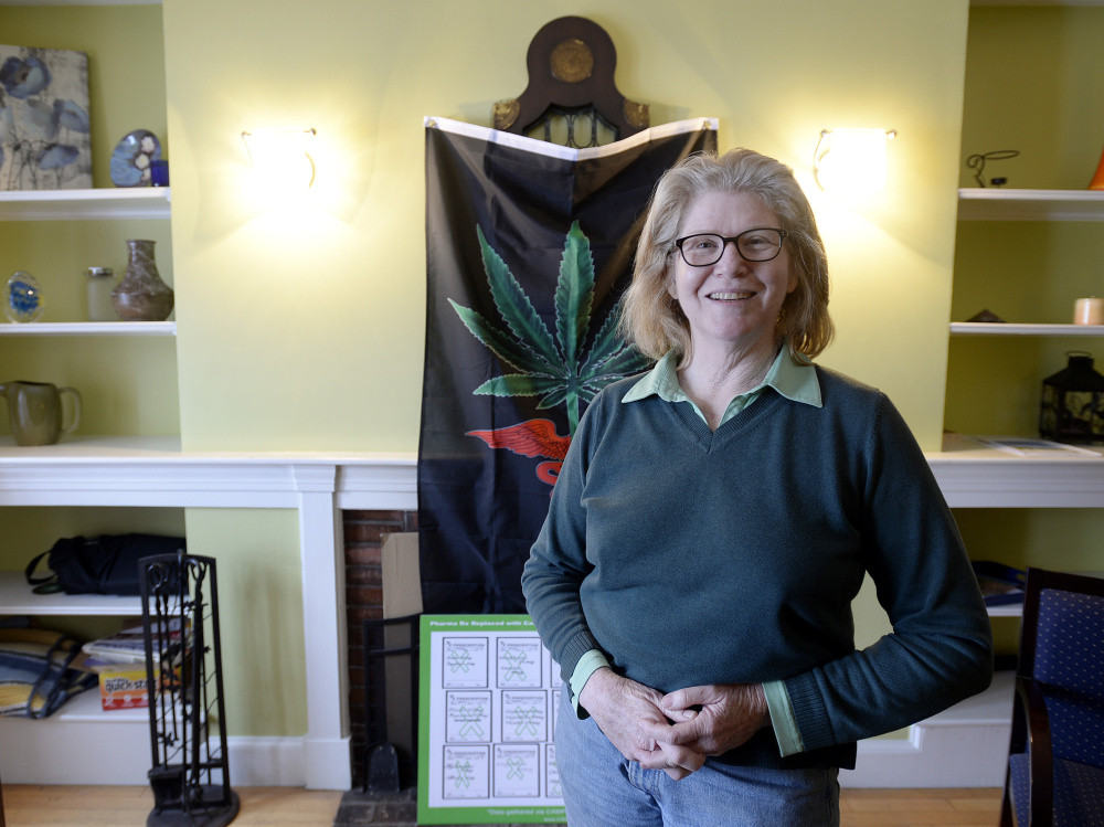 Dr. Mary Callison specializes in making house calls and using video conferencing to certify medical marijuana patients in Maine.