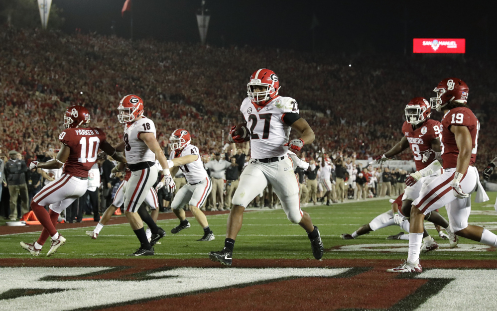 Georgia edges Oklahoma in Rose Bowl thriller to reach ...