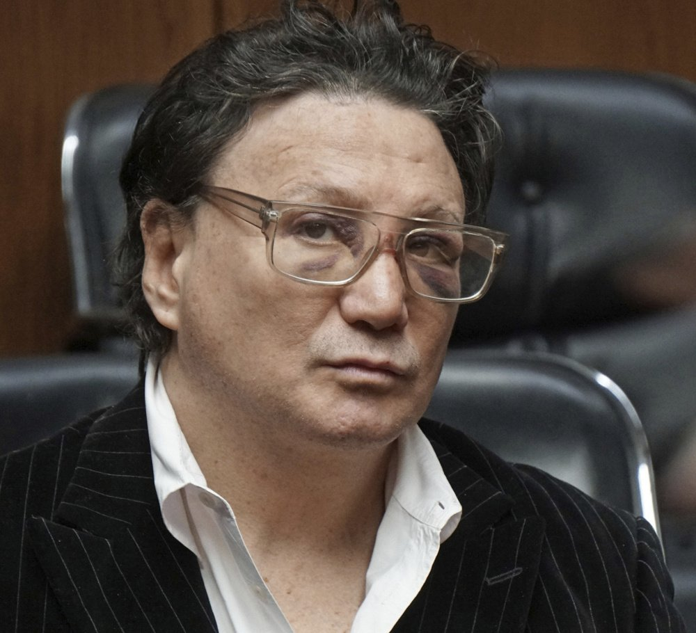 Vinny Paz was released on personal recognizance after appearing in court in Providence Wednesday.