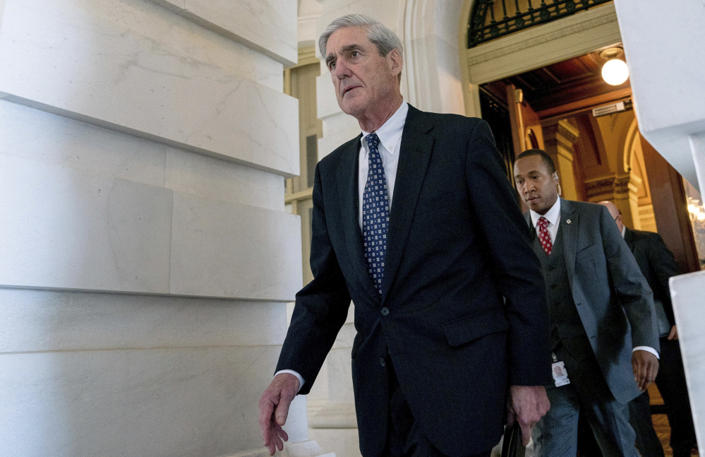 A reader says Russia probe special counsel Robert Mueller has proven his patriotism many times and his integrity shouldn't be questioned.