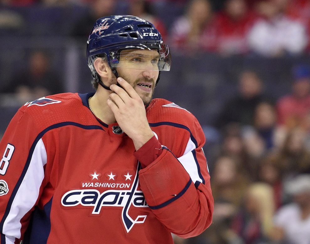 At age 32, Washington's Alex Ovechkin is not slowing down. In fact, he's getting faster. He is showing a burst in his step and has 26 goals at the halfway point of the season.