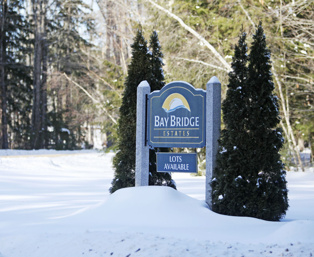 At Bay Bridge Estates in Brunswick, the water pressure and supply have been issues because of the recent cold weather. Town officials have arranged for water from Topsham.