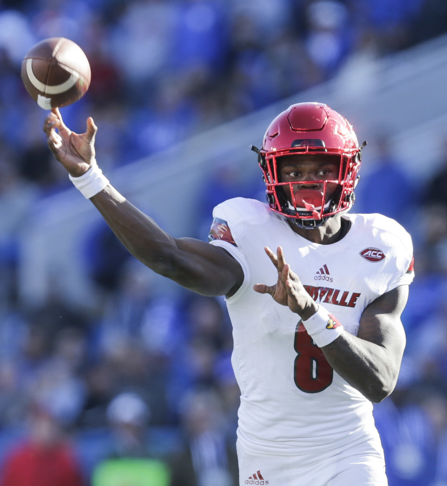 Lamar Jackson, the 2016 Heisman Trophy winner, is passing up his senior season at Louisville despite uncertainty about how he's viewed by NFL scouts.
