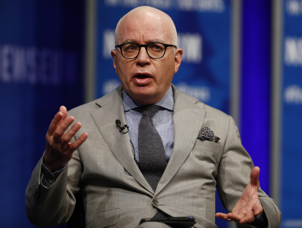 "Michael Wolff says he is unfazed by President Trump's threats of legal action over his book, ""Fire and Fury: Inside the Trump White House,"" released Friday."