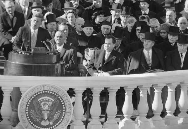 A reader wants Americans to live by the words of John F. Kennedy, who pledged in his 1961 inaugural address to