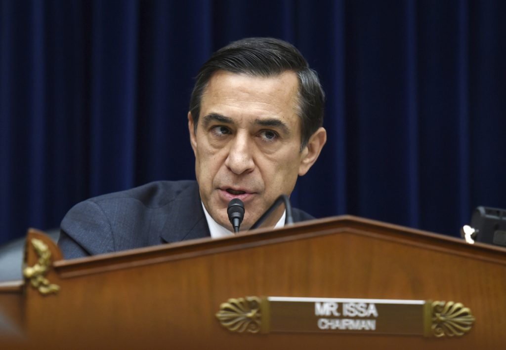 Rep. Darrell Issa, R-Calif., will not seek re-election after serving out his ninth term in Congress.