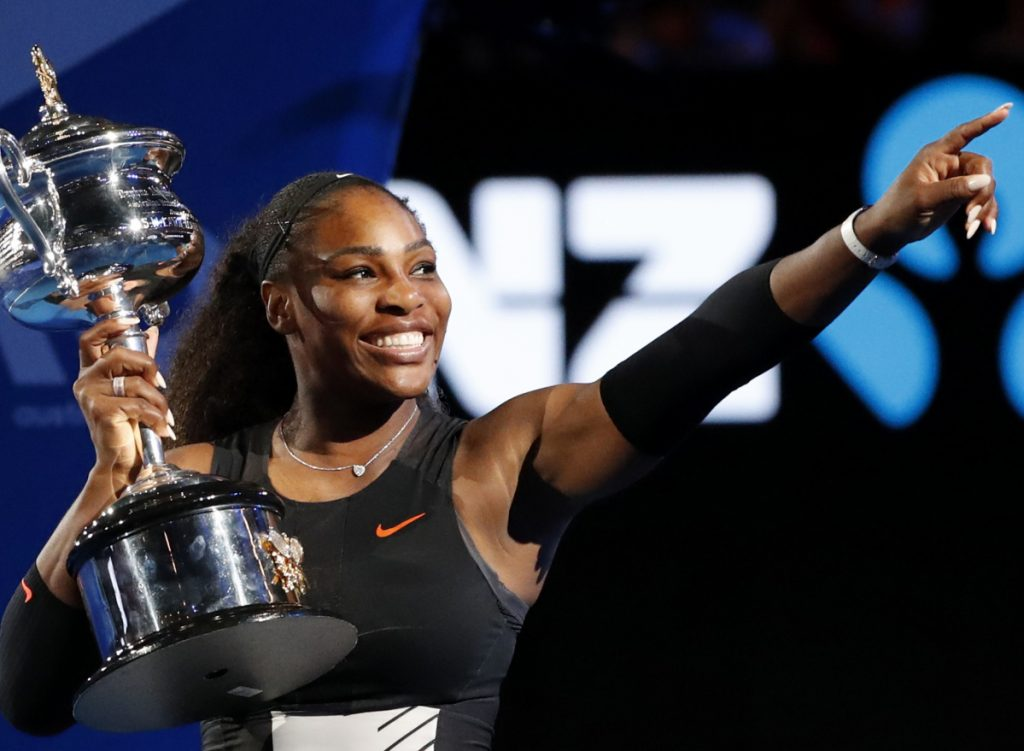 Serena Williams isn't ready to defend her Australian Open title, but simply playing is amazing after a complication  following childbirth.