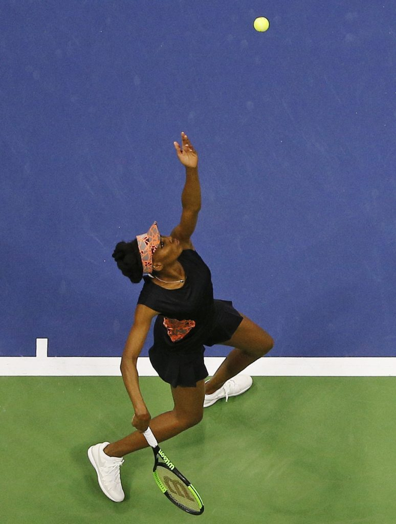 Venus Williams, who last won a Grand Slam title in 2008, is one of the contenders in a wide-open women's draw.