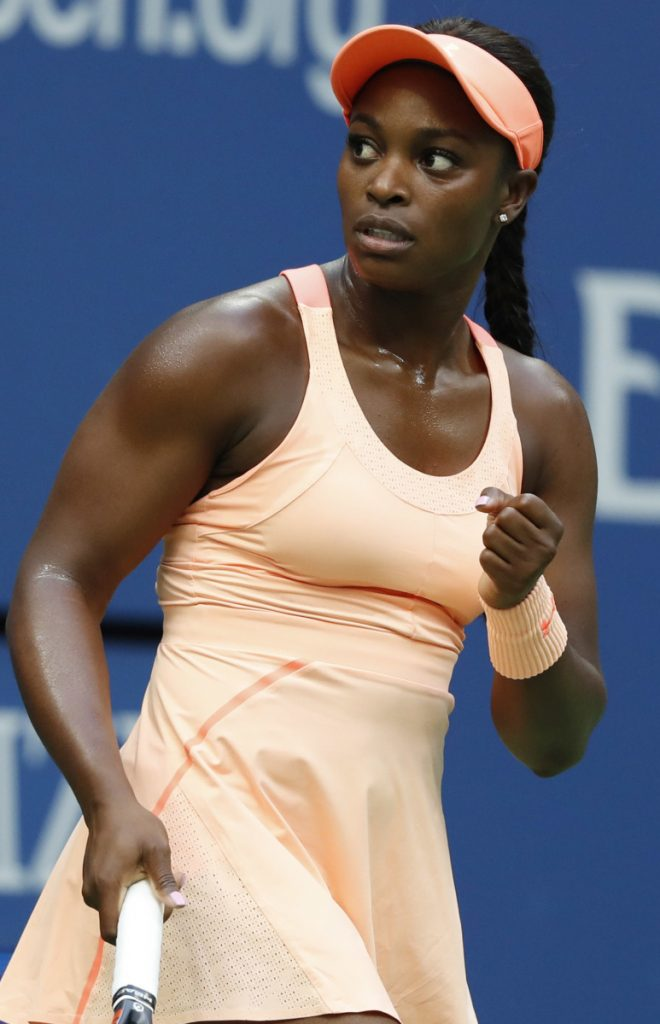 Sloane Stephens won the U.S. Open last year, but struggled in the aftermath of her first major title, losing seven straight matches.