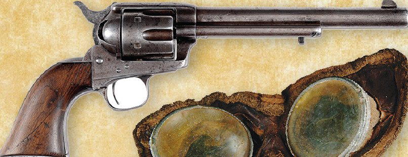 A past auction item was a Colt single-action Army revolver used by one of Lt. Col. George Armstrong Custer's men in the Battle of the Little Bighorn.