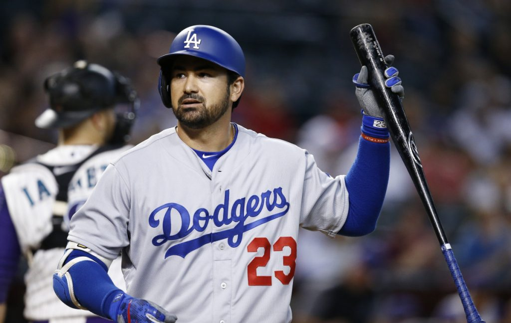Adrian Gonzalez will be hoping to make the New York Mets' roster in the spring, then go on to a comeback season after hitting just .242 last year with the Los Angeles Dodgers.
