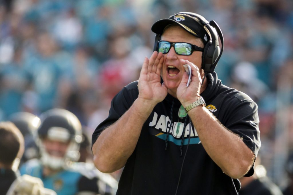 Doug Marrone acknowledges Tom Coughlin's Jacksonville Jaguars impact