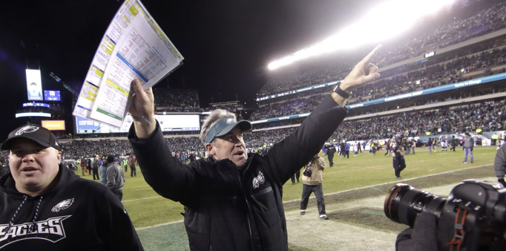 Many saw Doug Pederson as an old Andy Reid disciple who could not take Philadelphia to the next level, but the Eagles' coach has his team hosting the NFC championship game.
