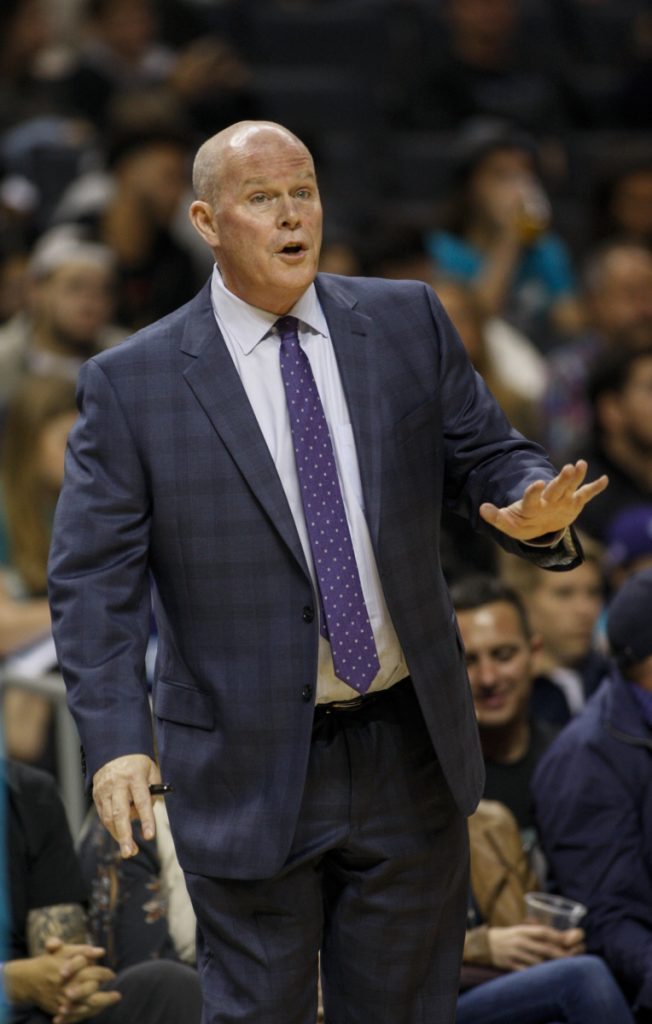 Charlotte Coach Steve Clifford returned to the Bobcats on Tuesday after taking off six weeks to rest an recover from sleep deprivation.