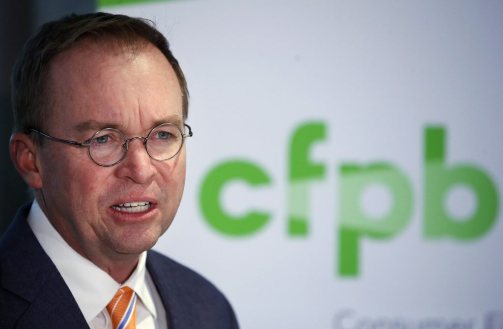 Trump's Consumer Agency Announces Plan to Let Predatory Lenders Off the Hook