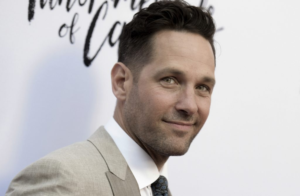 Paul Rudd was named 2018 Man of the Year by Harvard University's Hasty Pudding Theatricals on Thursday.