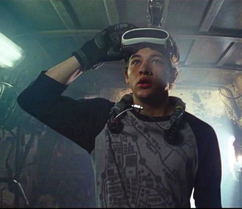 "Tye Sheridan in ""Ready Player One,"" opening in March."
