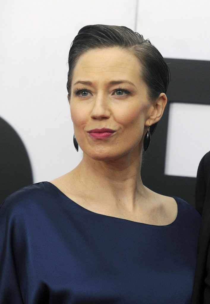 "Carrie Coon attends ""The Post"" premiere last month in Washington."