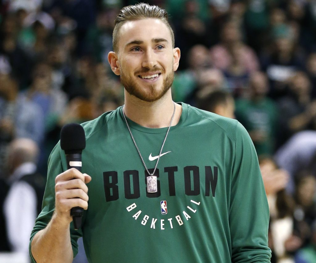 "The Celtics still say Gordon Hayward will miss the rest of the season, but he continues to make strides in his comeback. Is he ahead of schedule? ""Honestly I think it's too early to even tell that,"" says Danny Ainge."