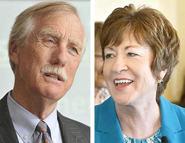 A reader is praising Maine Sens. Angus King and Susan Collins for helping to end the government shutdown in a bipartisan way.